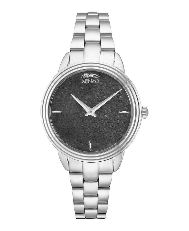 Watch - steel strap - display type analogue - stainless steel case - case diameter 36 mm - water resistancy 50 meters - Watch women 96006women Grey