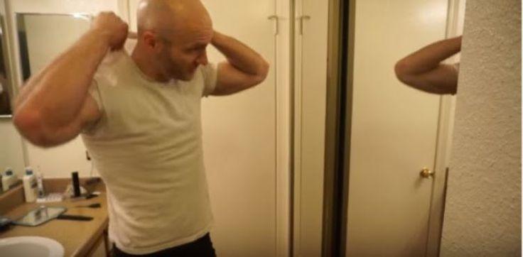 OMG VIDEO NEWS: Δεν έχετε ξαναδεί τόσες πολλές τρίχες σε ανδρικό σώμα! (video)