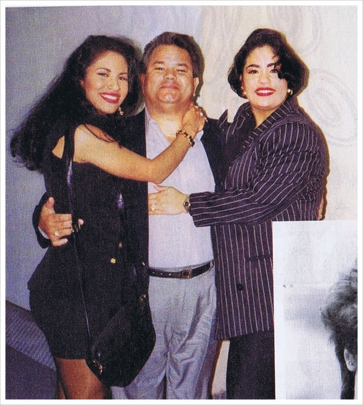 Selena, her uncle, and Suzette