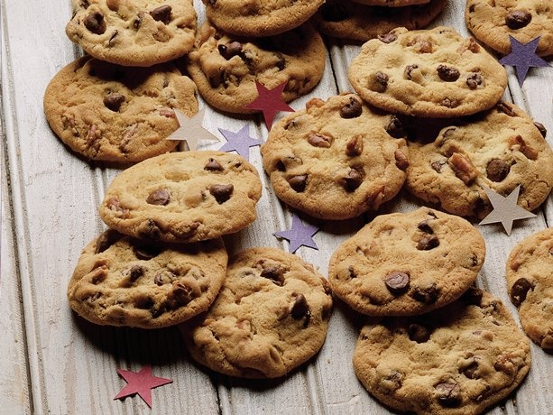 Ultimate Chocolate Chip Cookies...replace half the butter with apple ...