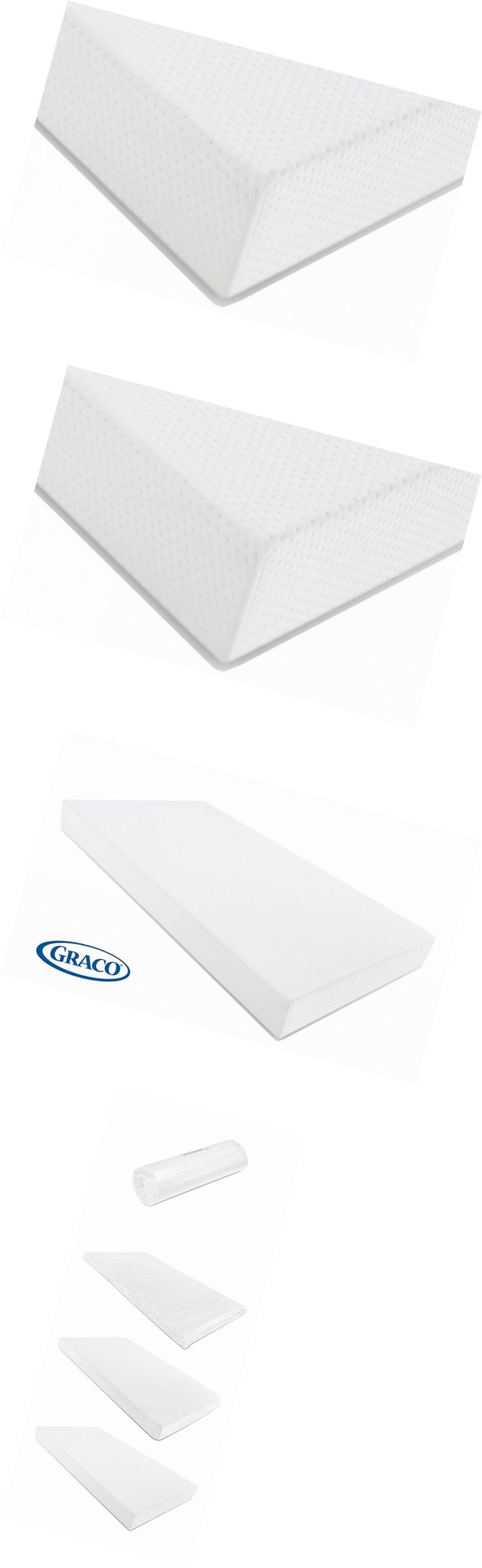 Crib Mattresses 117035: Graco Premium Foam Crib And Toddler Bed Mattress -> BUY IT NOW ONLY: $55.32 on eBay!