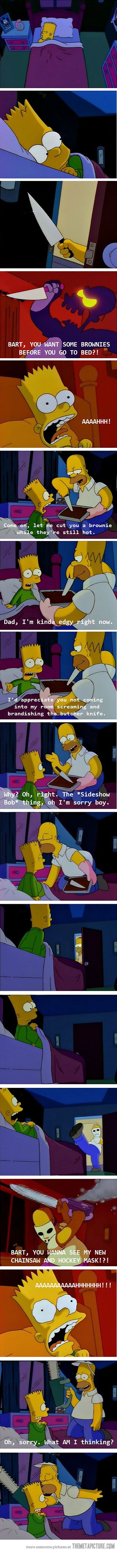 Parenting Level: Homer Simpson