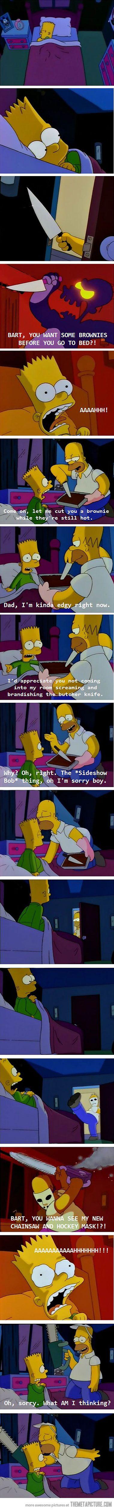 Parenting Level: Homer Simpson