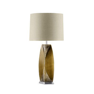 """Nova Wings 29"""" H Table Lamp with Empire Shade"""