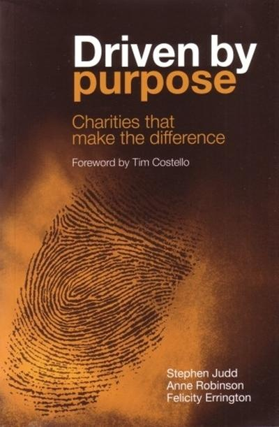 Great book on reviving the purpose of your not-for-profit or charity or life! Driven By Purpose