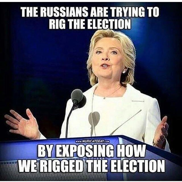 When the Russians have done more to expose corruption than anyone else in our government...