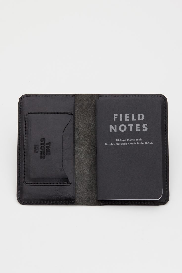 Field Notes Wallet / The Stowe                                                                                                                                                                                 More