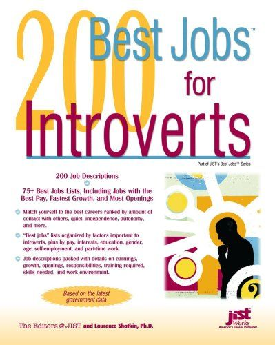 200 Best Jobs for Introverts (Jist's Best Jobs) – The Library of Library User Group