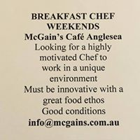 McGain's Nursery and Cafe is the most beautiful place in Anglesea for brekky, brunch, lunch, or just coffee & cake. #anglesearestaurants #