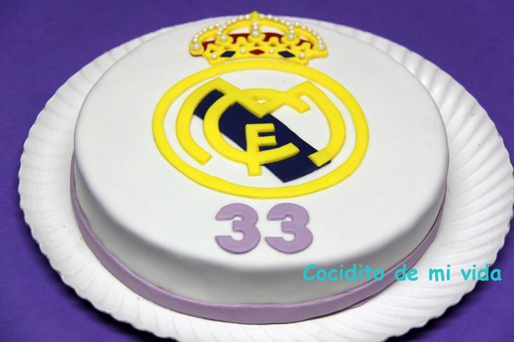 Cocidito de mi vida: Tarta de cumpleaños del Real Madrid