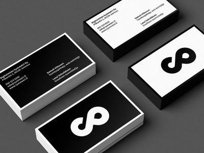 Симметрично Визитные карточки