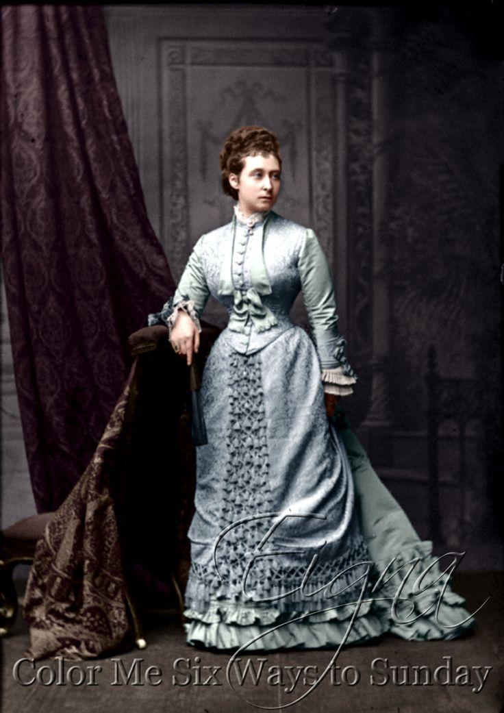 La princesa Real Alicia Casada en 1862 (1 de julio), Luis IV de Hesse-Darmstadt;
