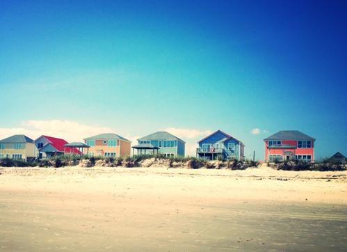 Oak Island, North Carolina. Such a beautiful place to vacation!!!