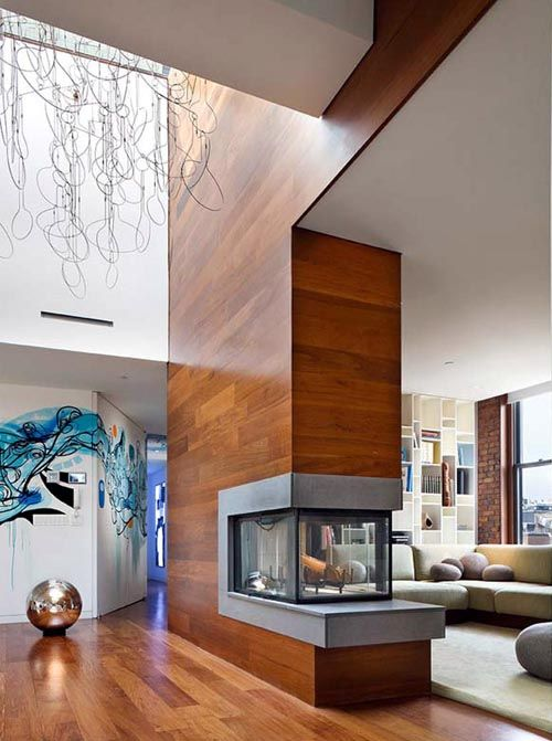 Sustainable NYC Penthouse Interior Design