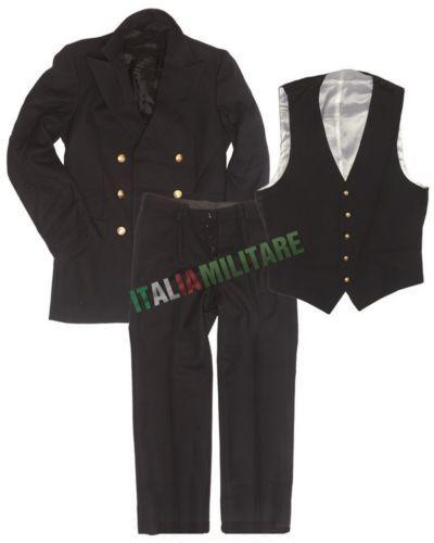 Uniforme-Giacca-Pantalone-e-Gilet-Marina-Militare-Italiana-Originale