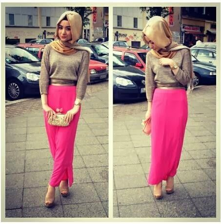 simple hijab pour l'école