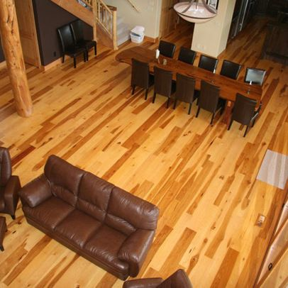 I Think I Fell In Love With Hickory Wood Floor.