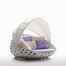 """""""Canasta Divani"""" designed by Patricia Urquiola for b&b italia Outdoor. #furniture #outdoor #design #inteiordesign www.santiccioli.com @arredamenti_santiccioli"""
