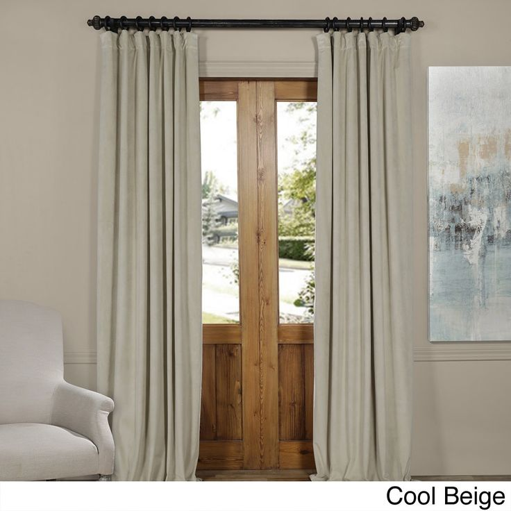 Blackout Curtain Idea: Window Curtains, Curtains And How To Hang Curtains