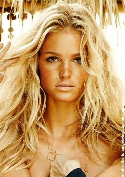 Erin Heatherton...yea this is what I plan to look like all day everyday in PR