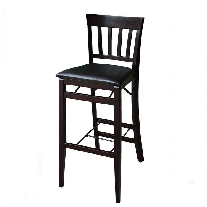 Triena Mission Back Folding Barstool