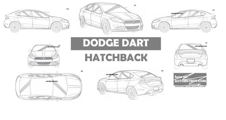2013 Dodge Dart Hatchback Patent