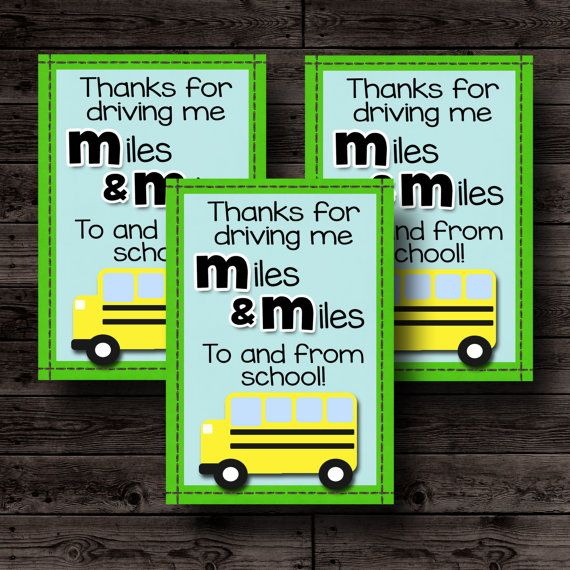 School Bus Driver GiftTeacher Appreciation Gift Teacher