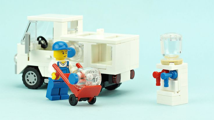 """""""Bottled water delivery truck"""" by de-marco: Pimped from Flickr"""