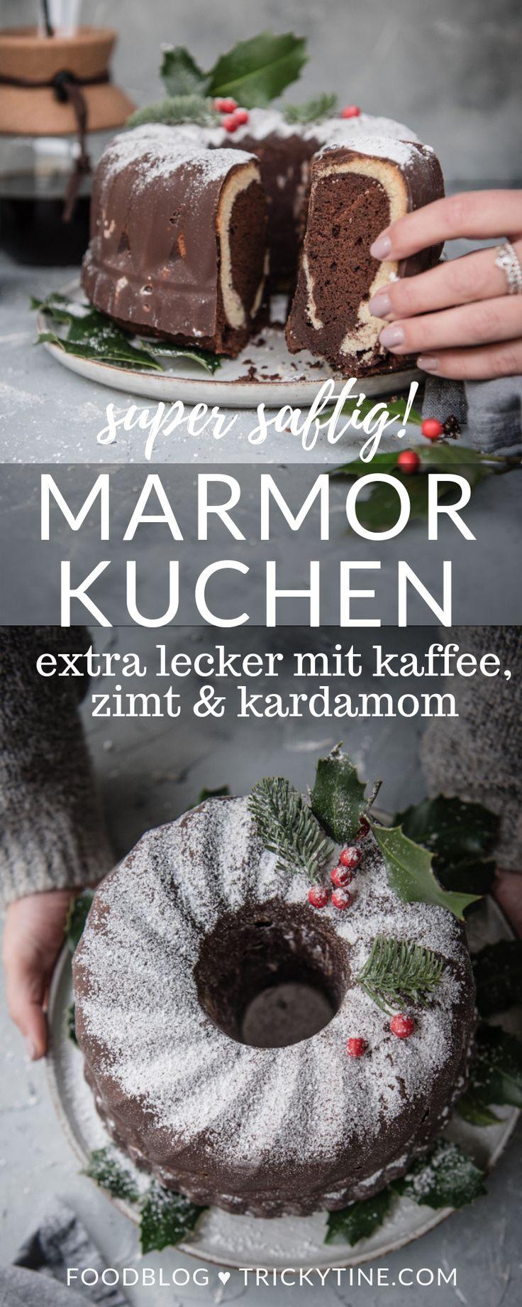 rezept für super saftigen marmorkuchen, verfeinert mit kaffee, zimt und kardamom ♥ – trickytine