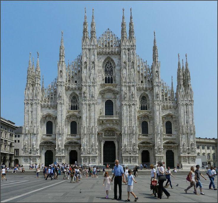 Миланский собор. Duomo di Milano.