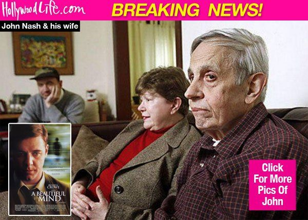 John Nash: Man Who Inspired 'A Beautiful Mind' & His Wife Killed In Car Crash