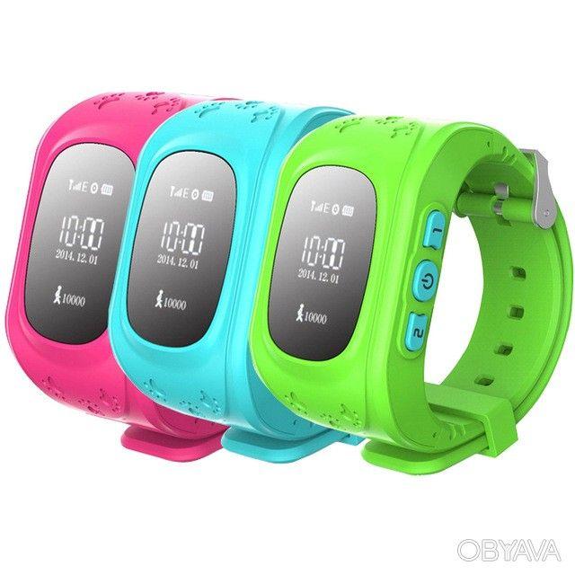 Детские часы c GPS трекером Smart BabyWatch Q50, Черкаси - дошка оголошень OBYAVA.ua