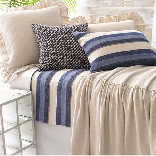 Pine Cone Hill Wilton Natural Bedspread Ships Free