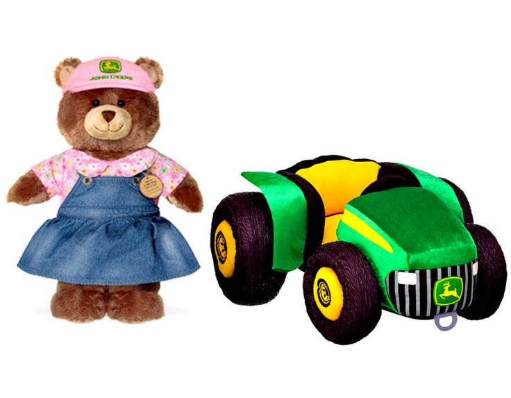 John Deere Teddy Bears : Best build a bear workshop rare brand new retired