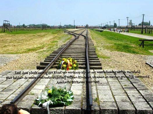 Klaskoffer: 27 januari 2015 - Holocaust herdenkingsdag - Ausch...