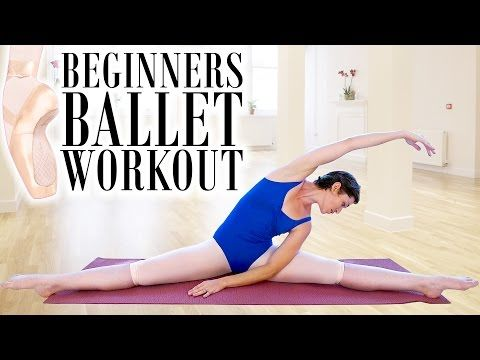 fb575b0aed109 Beginners Ballet Workout 2  Full Body Flexibility Stretch & Toning  Exercises - YouTube   good intentions!   Beginner ballet, Toning workouts,  ...