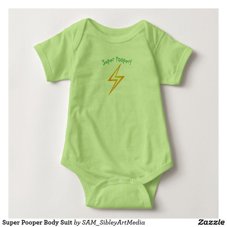 Super Pooper Body Suit