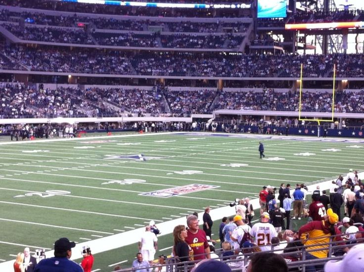 Sunday night football between two NFC leaders! Couldn't get any better. These are great seats. You will LOVE them. If you have any questions, contact ... #lower #level #cowboys #dallas #tampa #buccaneers #tickets