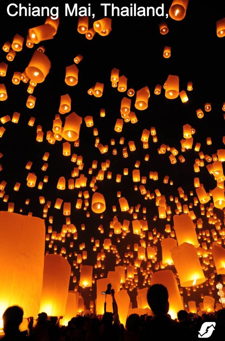 Bucket list: Thailand Lantern Festival. Your bucket list starts here – book now with Orbitz.