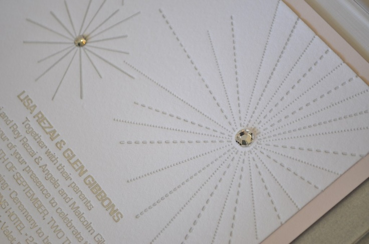 lucite and letterpress make a luxurious combination for this contemporary wedding at the Four Seasons Toronto. www.palettera.ca