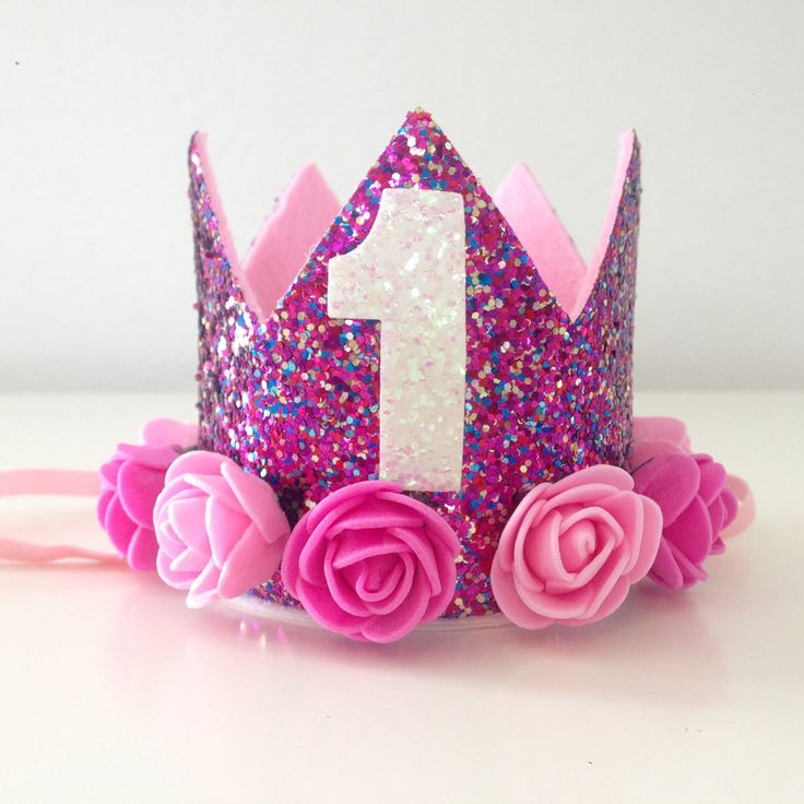 1st birthday crown perfect for your little princess