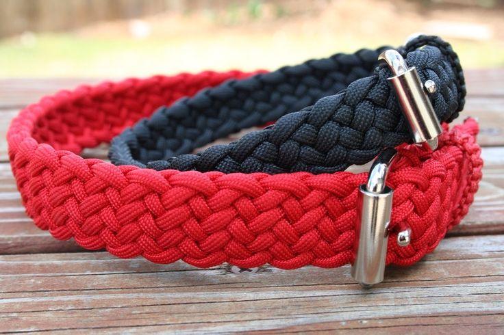 Paracordist Creations LLC - Paracord Dog Collar, $33.00 (http://www.paracordist.com/paracord-dog-collar/)