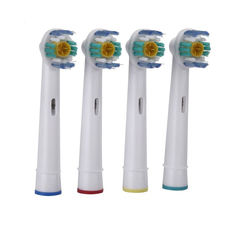 4pcs/set Oral Hygiene EB-18A Rotary B Electric Toothbrush Heads Replacement for  Oral Bristles Tooth brush heads ** You can get more details by clicking on the image.