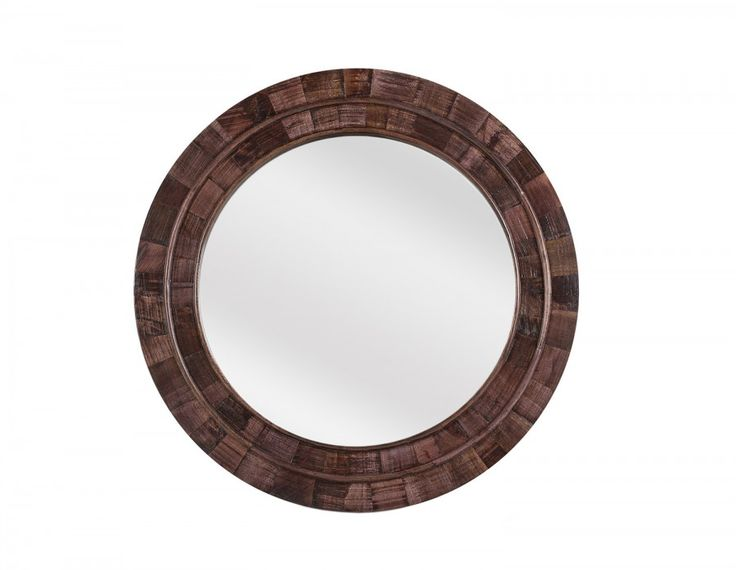 The Georgia mirror reflects nature's beauty with a solid mango wood frame that's full of character. At 100 cm (39 inches) diameter, this oval showpiece fills blank spaces with ease, bouncing light around and  adding a refined sparkle. Handmade in India, this piece was hand brushed and polished, giving it a unique weathered oak finish that is completely water-based and lead-free. Its rich colour warms up  neutral walls and gives Georgia global flair. This solid mango wood mirror should be…