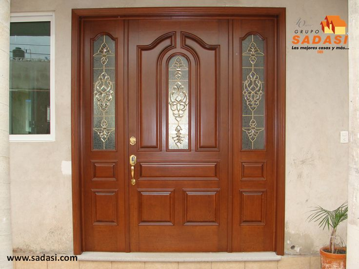 M s de 1000 ideas sobre decoraci n de puerta de entrada - Puertas casa exterior ...