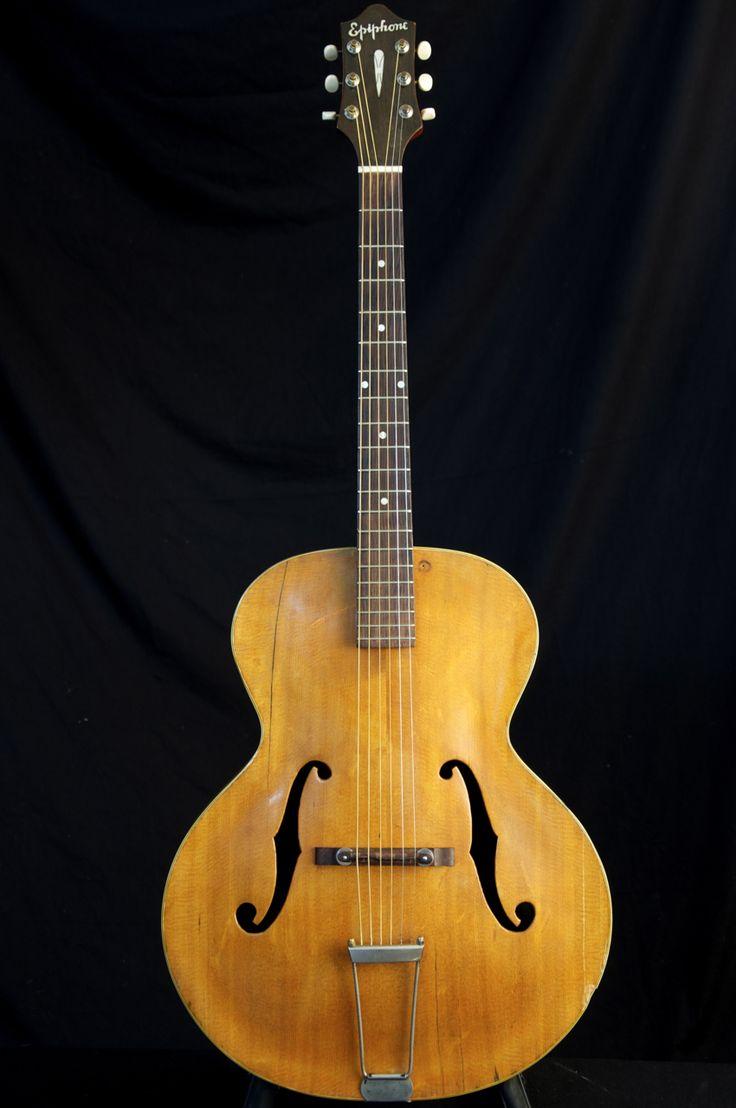 Vintage 1948 Epiphone Zenith Archtop Acoustic Guitars