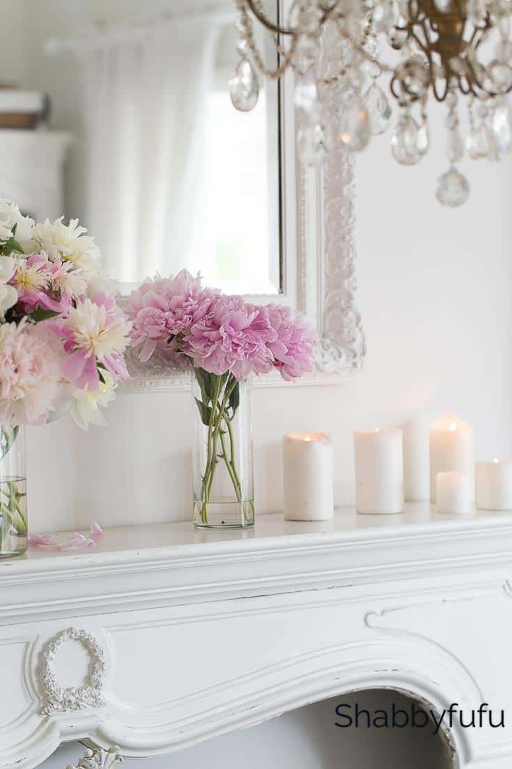 Blush Pink And White Summer Decorating Ideas Blush Pink Decor Blush Decor Country House Decor