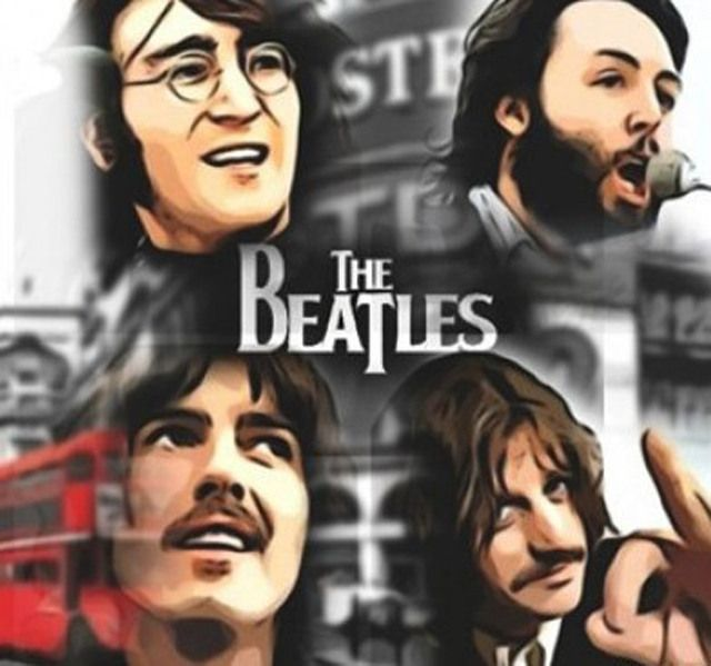 Print on canvas THE BEATLES $349