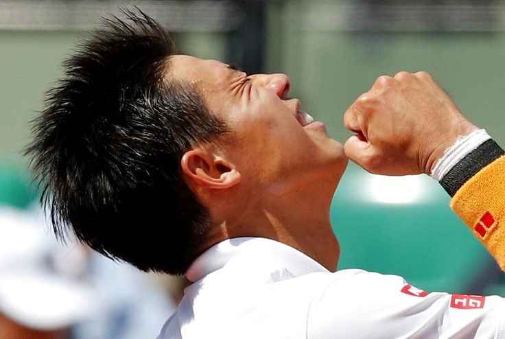 PARIS (AP)(STL.News) — A combination of luck and perfect tennis helped Kei Nishikori reach the quarterfinals of the French Open.    The eighth-seeded Nishikori recovered from a nightmare opening set to beat Fernando Verdasco 0-6, 6-4, 6-4, 6-0 on M...