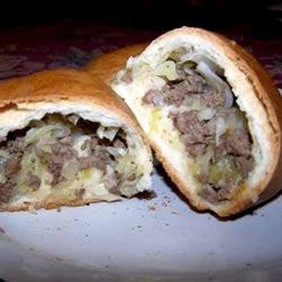 Bierocks(Old Fashioned Volga German Hamburgers) Recipe - Key Ingredient I'll make it df and gf